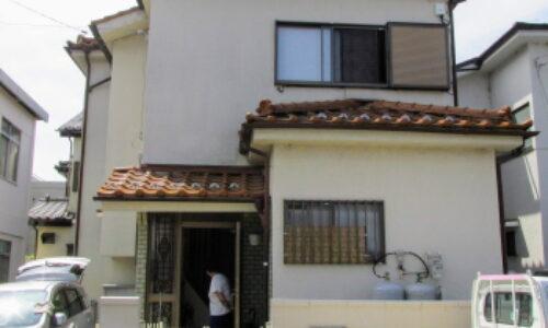 入間市K様邸 屋根修理及び外壁塗装工事