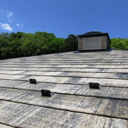 屋根プライマー下塗り