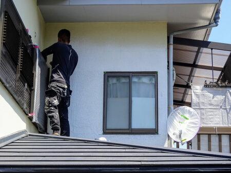 入間市 外壁改修工事 施工前の写真