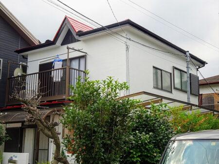 入間市 外壁・屋根塗装工事 施工後の写真