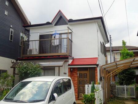 入間市 外壁・屋根塗装工事の施工後の写真