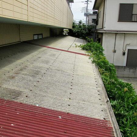 入間市 屋根張替工事 施工前写真