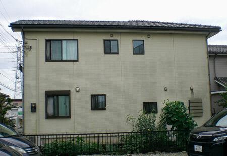 狭山市外壁塗装 施工前の写真