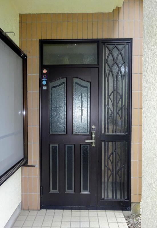 入間市小谷田 T様 施工実例 玄関ドアー交換工事の写真1