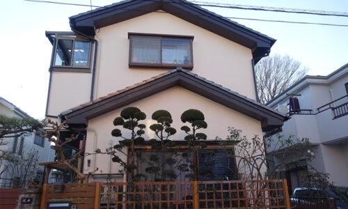 狭山市北入曽S様邸 外壁塗装