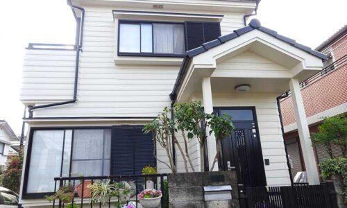 入間市大字小谷田 D様邸 外壁・屋根塗装、ベランダ改修工事