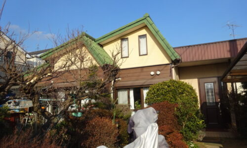 E様邸 外壁屋根塗装