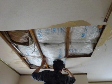飯能市双柳 O様邸 屋根雨もり改修工事(ガルバニューム屋根重ね張り工事)