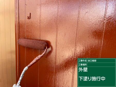 飯能市下赤工 T様 外壁塗装工事
