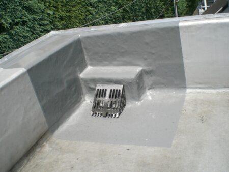 所沢市小手指 賃貸マンション ラスター屋上防水排水ドレンからの雨もり補修工事